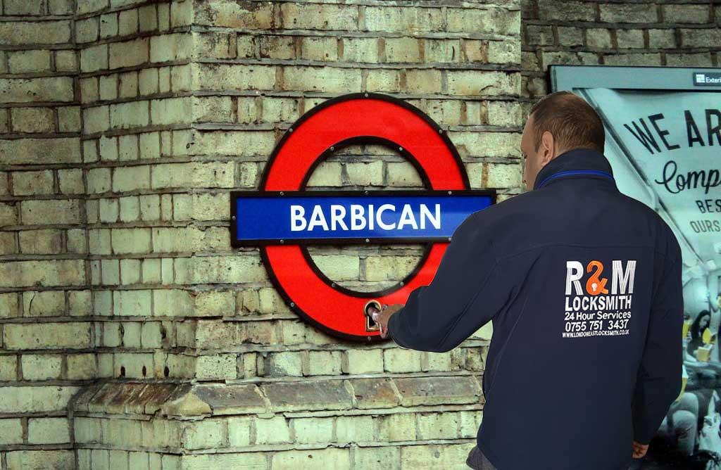 Locksmith in Barbican